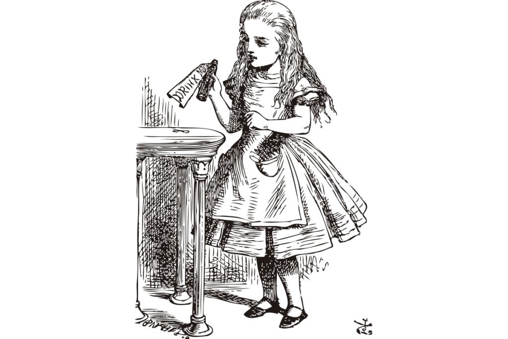 Alice e a poção mágica
