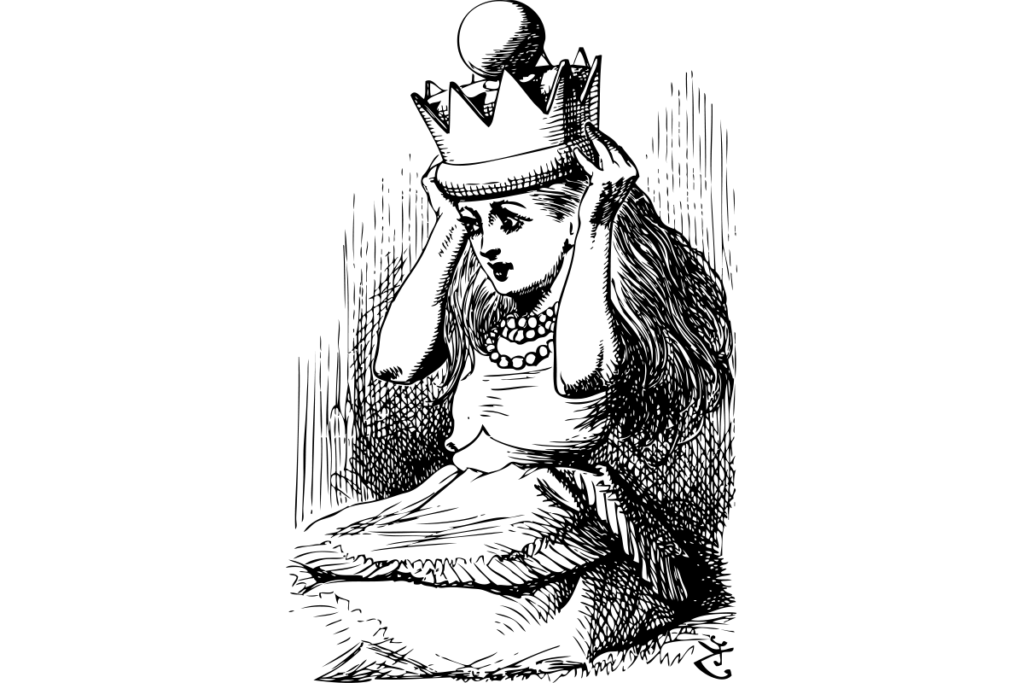 alice rainha